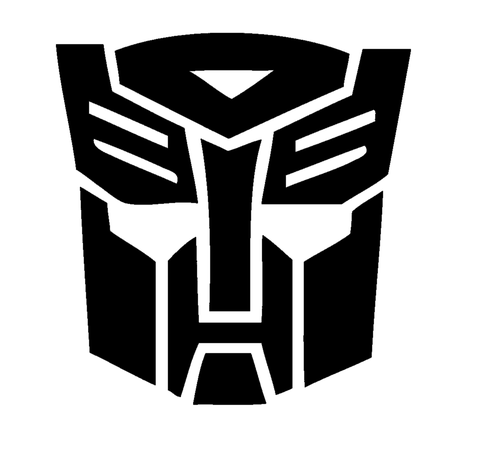 Transformers Autobots Symbol Decal Sticker