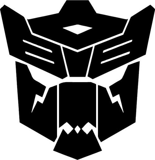 Transformers Dinobots Logo Decal Sticker