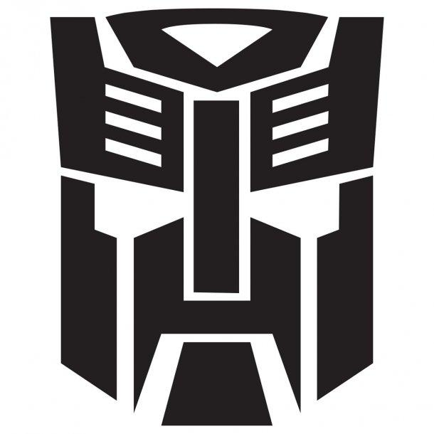 Transformers Logo Decal Sticker