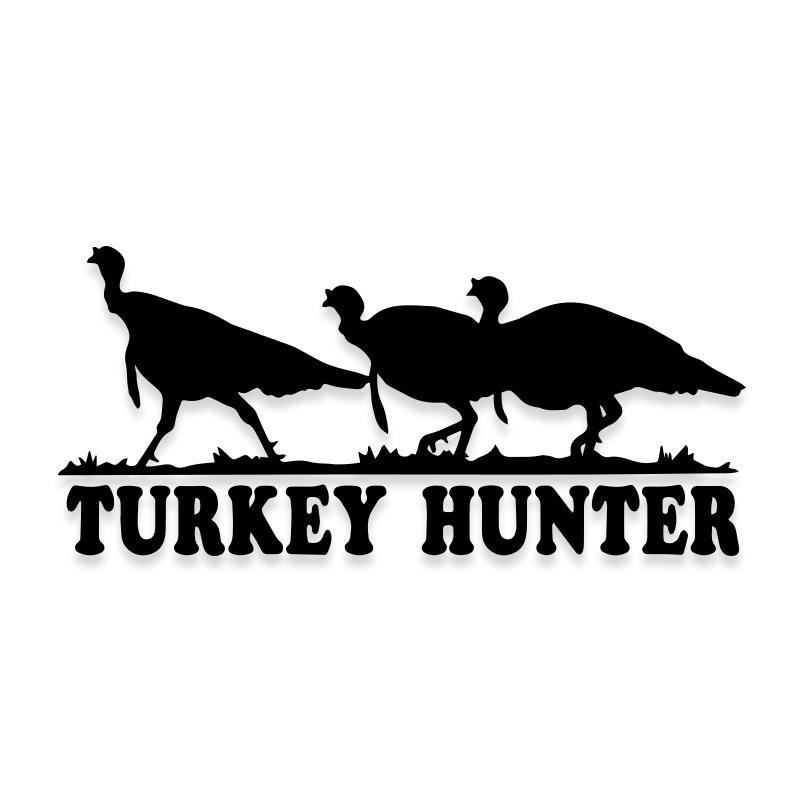 Turkey Hunting Decal Sticker