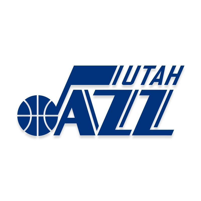 Utah Jazz NBA Decal Sticker