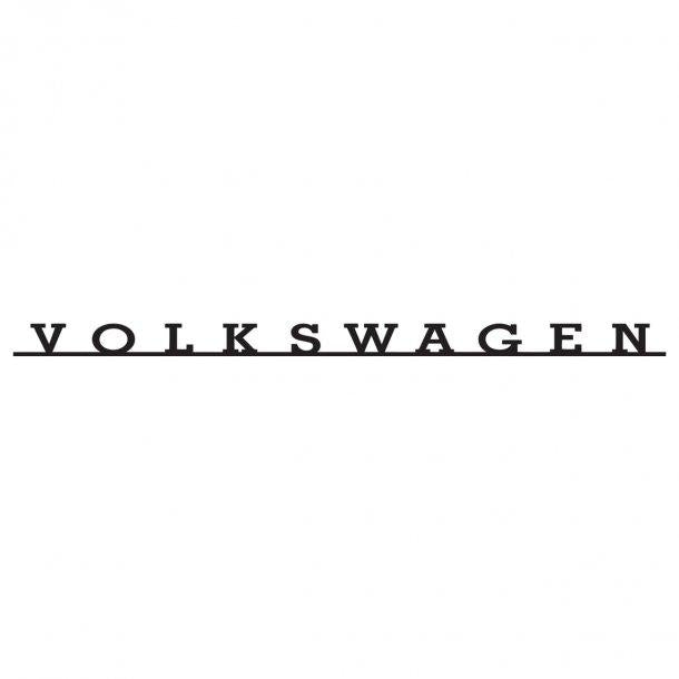 Volkswagen Logo Retro Decal Sticker
