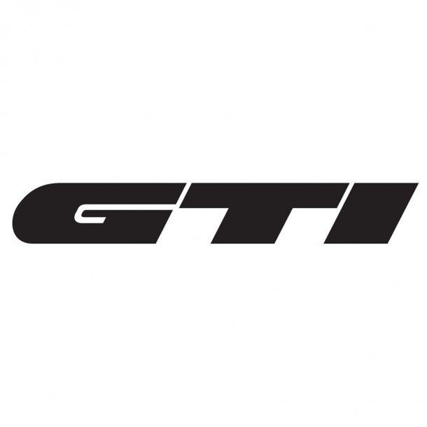 Vw Gti Logo 1 Decal Sticker