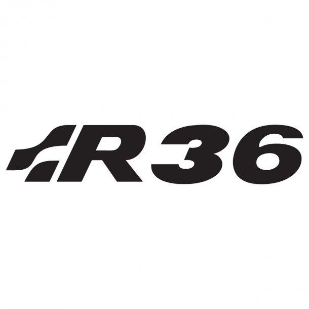 Vw R36 Decal Sticker