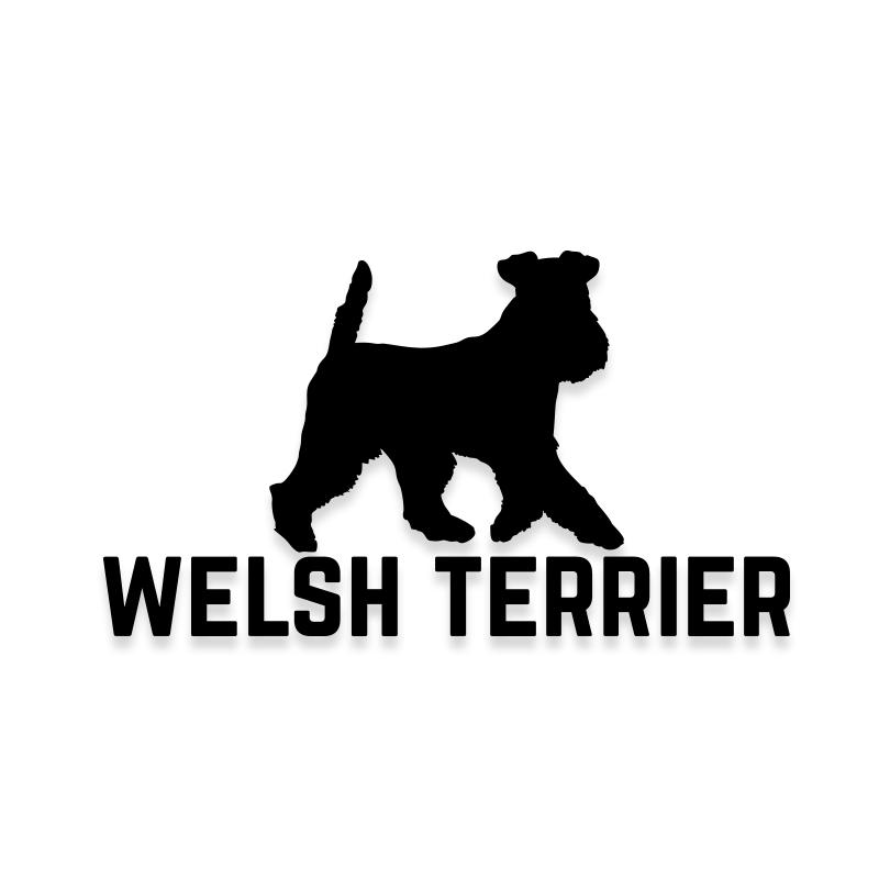 Welsh Terrier Car Decal Dog Sticker for Windows
