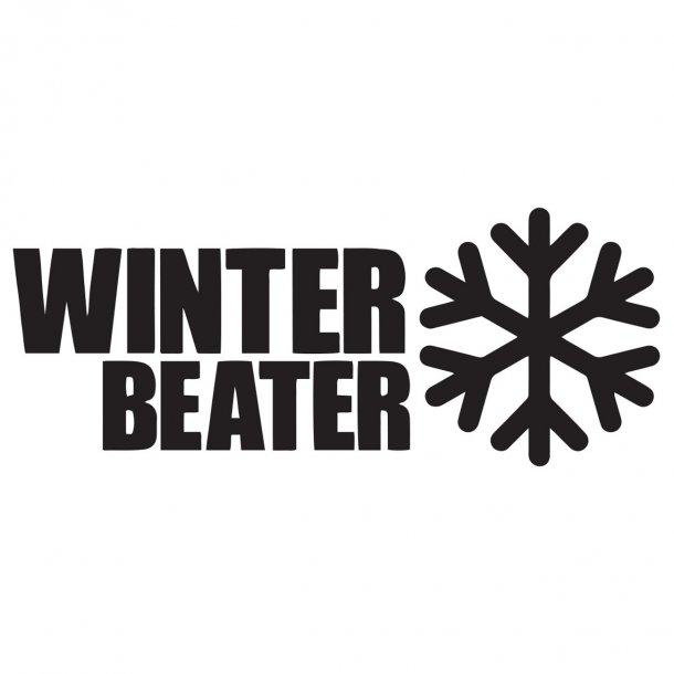 Winter Beater Decal Sticker