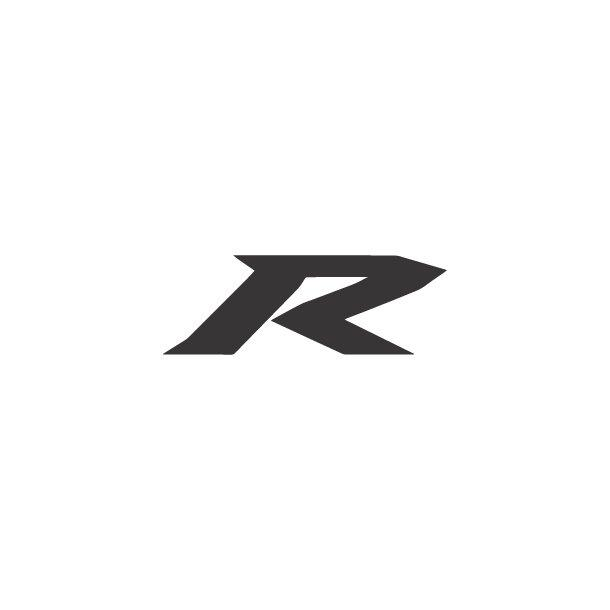 Yamaha R Logo Decal Sticker