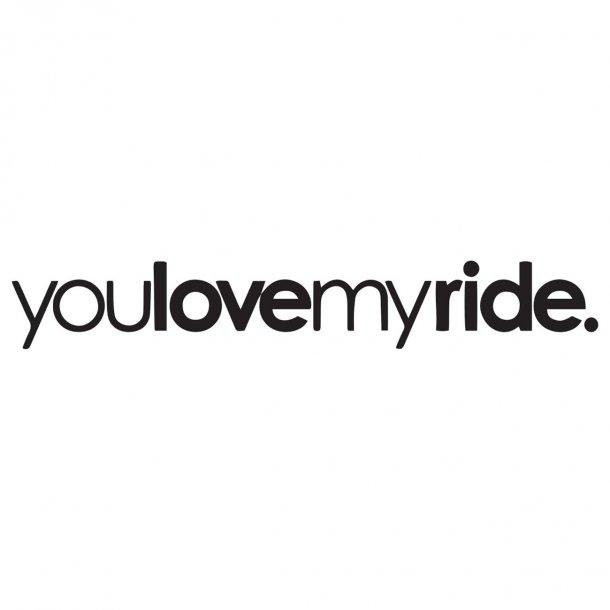 Youlovemyride. Decal Sticker