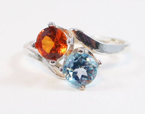 harmony and topaz sets engagement blue wedding rings wooden wood simply rosewood set sky ring