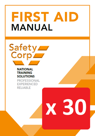 First Aid Manual - Box of 30