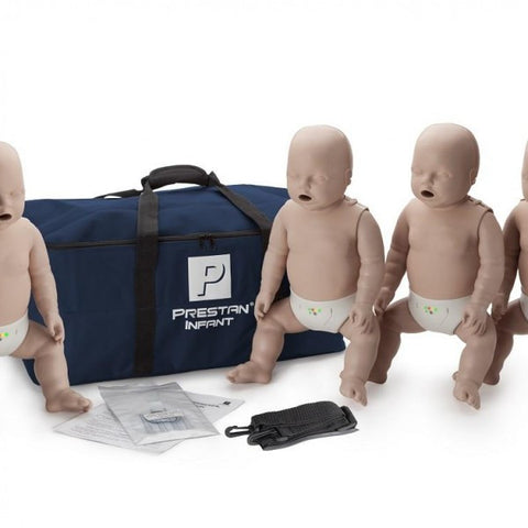 Prestan Professional Infant CPR-AED Training Manikins (4-Pack) * on Back orders