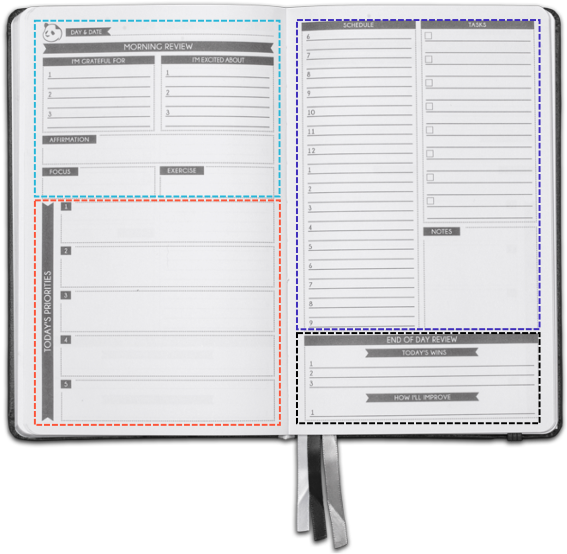 picture about Full Focus Planner Pdf named Panda Planner® Skilled