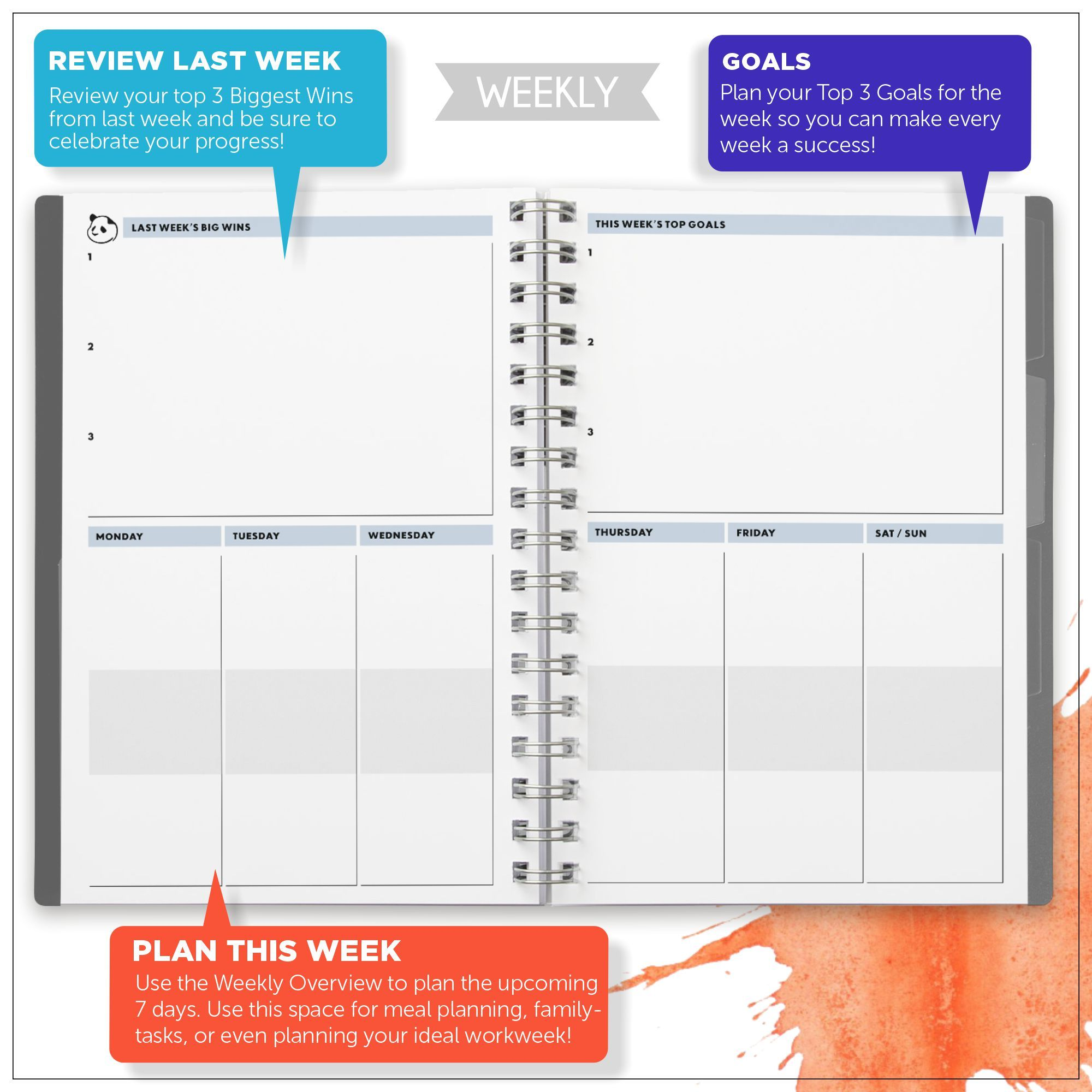 Daily Planner 2.0 Daily Planner 2.0 Panda Planner