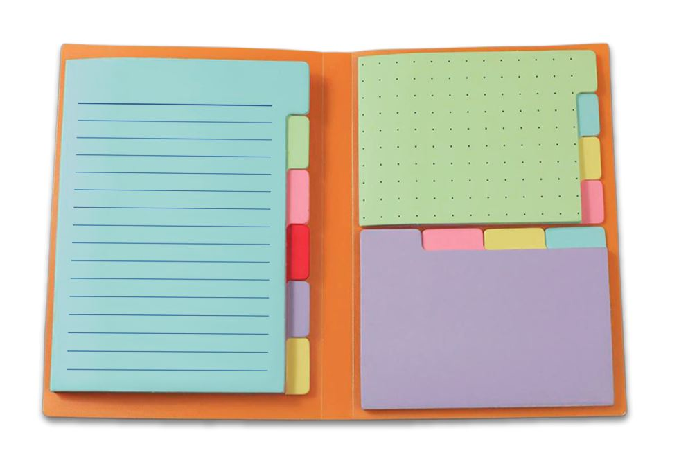 Sticky Notes for Planners by Panda Planner Sticky Notes 140 Total Tab Divider Notes Spring