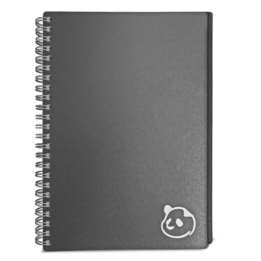 2021 Weekly Planner 2.0 by Panda Planner (Dated - Gray) - 1 Year Monthly Calendar and Weekly Organizer Notebook - Spiral Bound Wire Binding 12 Month Weekly Planner - 8.25