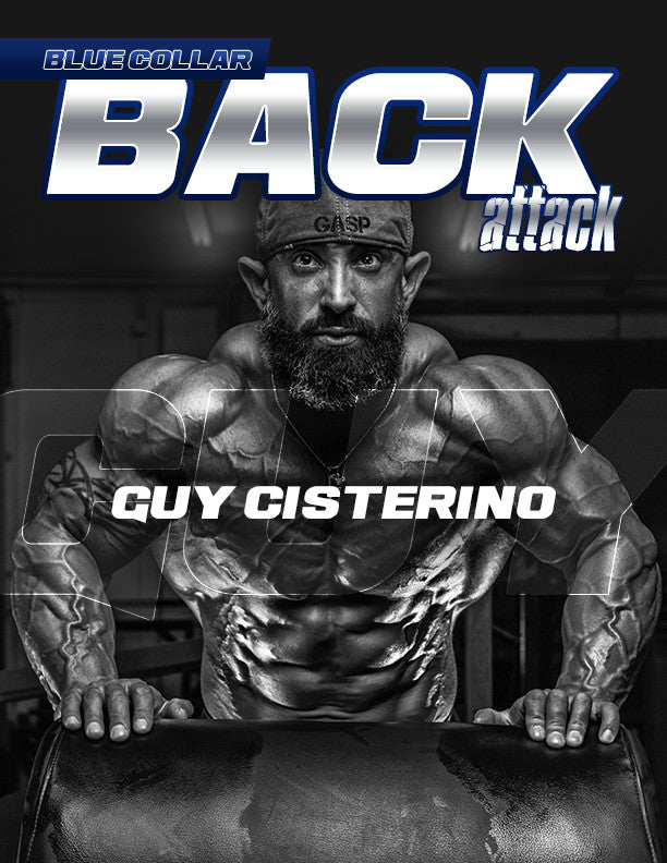 6 Week- 'Blue Collar BACK ATTACK' eBook