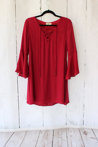 Queen Ann's Lace Off the Shoulder Tunic Dress