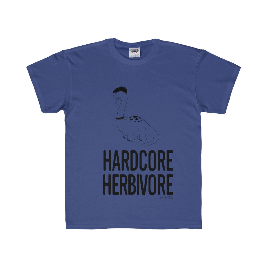 Tristin Original Hardcore Herbivore Kids Youth Regular Fit Unisex Tee