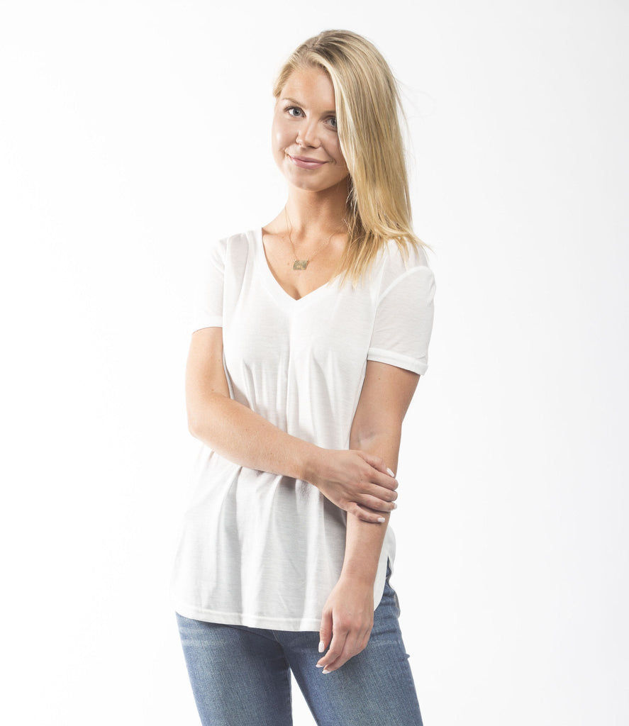 Lace it Up Tee Tops- Tristin