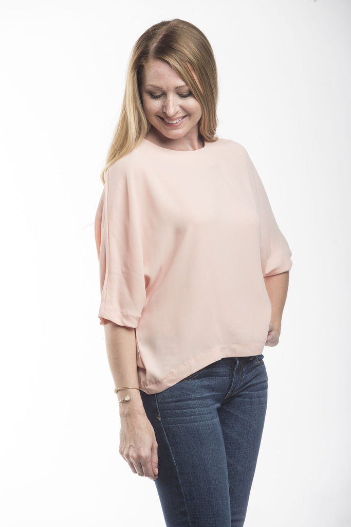 Carly Dolman Blouse Tops- Tristin