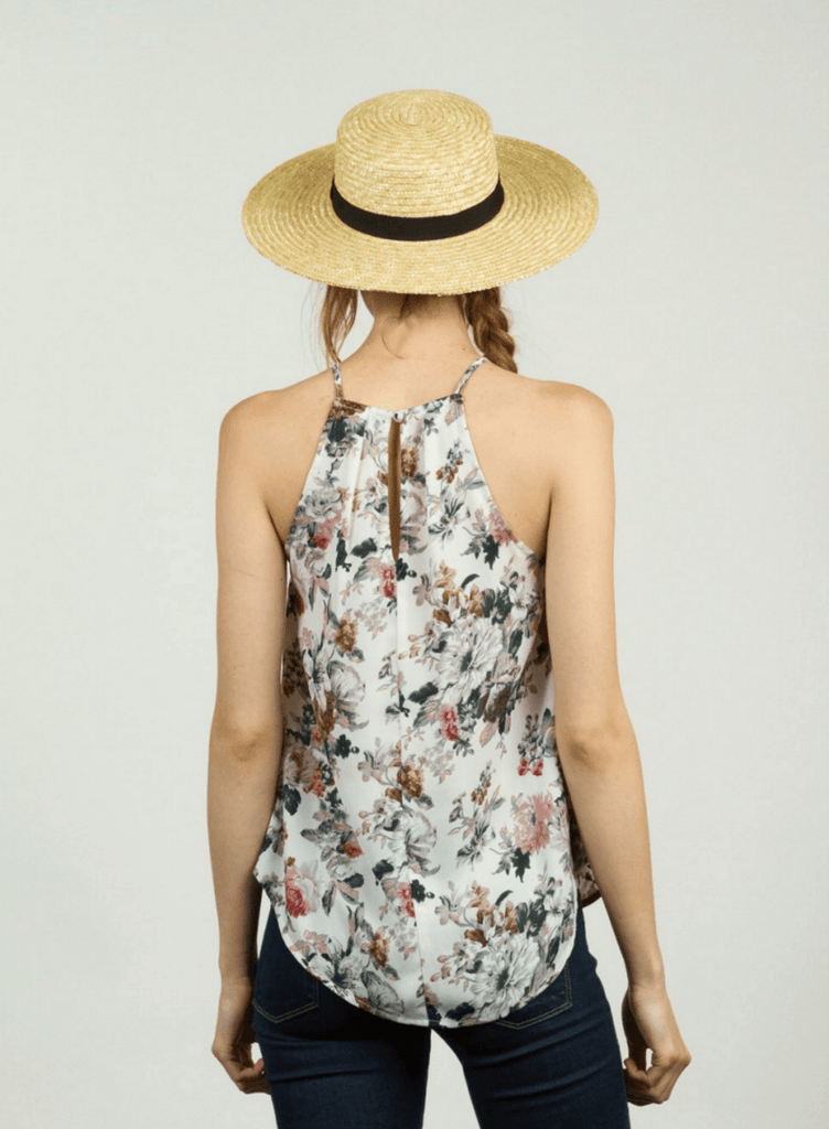 Garden Party Floral Top Tops- Tristin