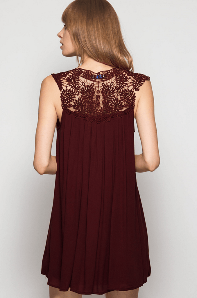 Lady Lace Dress Dresses- Tristin