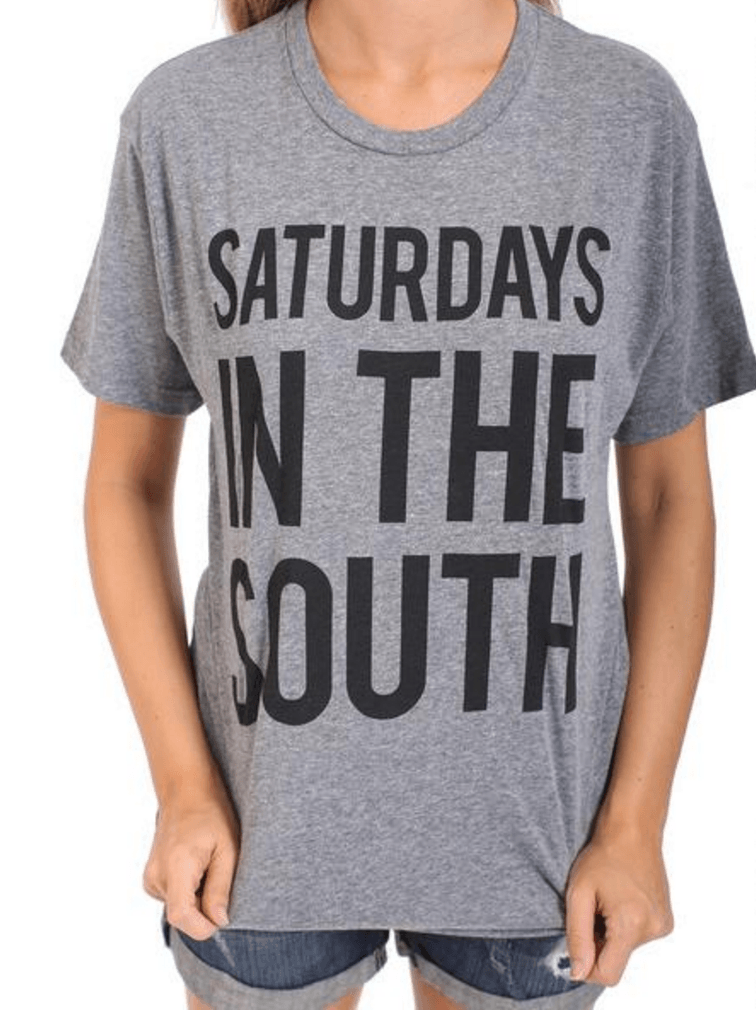 Saturdays in the South Tops- Tristin