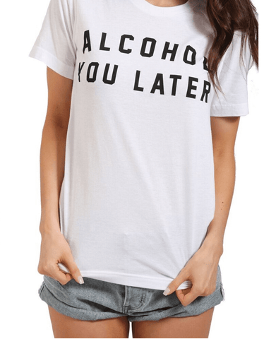 Pop the Champagne Graphic Tee