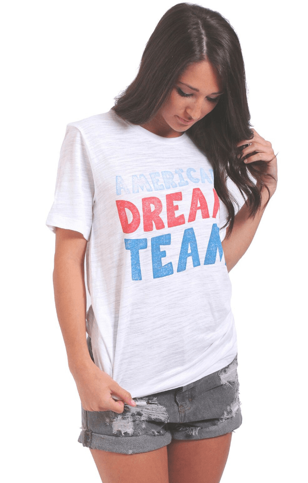 Friday + Saturday American Dream Team Graphic Tee
