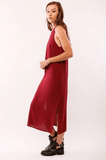 Sleveless Sheath Maxi Dress Dresses- Tristin