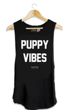 Puppy Vibes Tank - Ships 11/25 Tops- Tristin