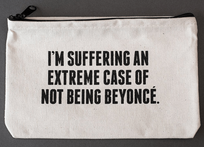 Beyonce Zipper Pouch Accessories- Tristin