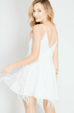 White Lace Slip Dress