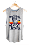 Sheriff Dog Bless Texas Muscle Tank Benefiting Hurricane Harvey Rescue Tops- Tristin