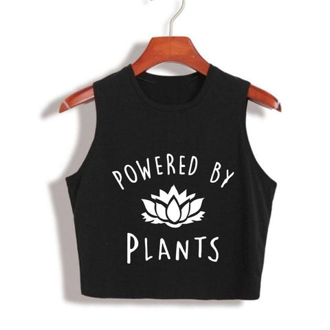 Tristin Original Eat Plants, Drink Wine, Rescue Animals Tank Top