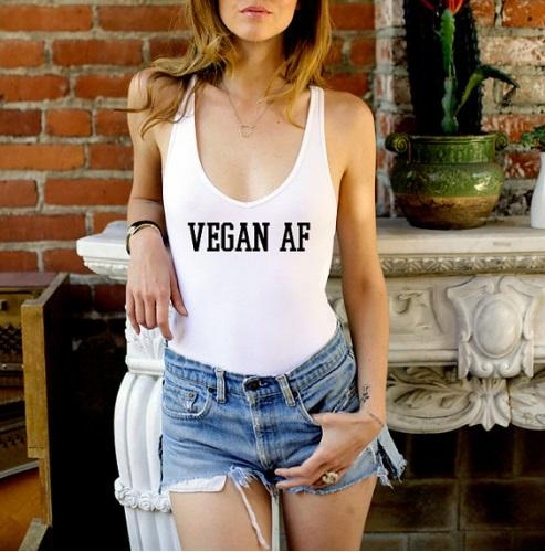 Vegan AF One Piece Swimsuit - Tristin