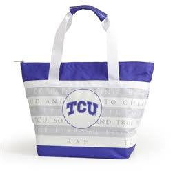 Texas Christian University Cooler Tote Accessories- Tristin