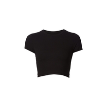 Load image into Gallery viewer, Jessica double tie crop top (Black)