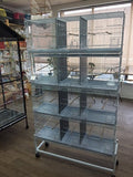 4 cages and stand Triple breeding cage