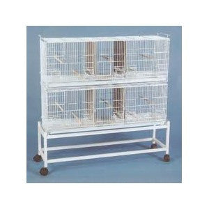 Triple breeding cage