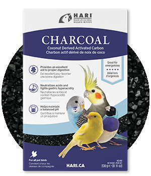 Charcoal for birds 230gr