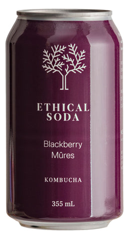 Ethical Soda - Blackberry Kombucha