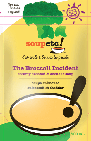 The Broccoli Incident Soup - Sprout Farm Delivery