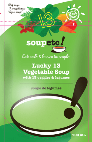 Lucky 13 Vegetable Soup - Sprout Farm Delivery