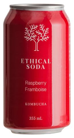 Ethical Soda - Raspberry Kombucha