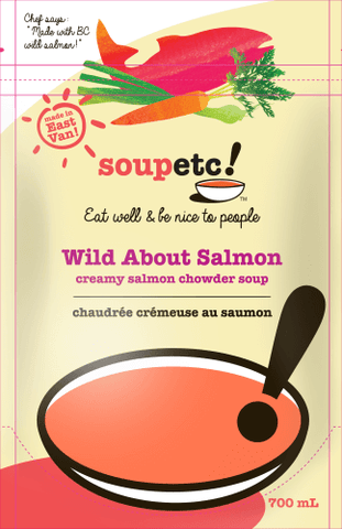Wild About Salmon Soup - Sprout Farm Delivery