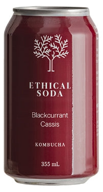 Ethical Soda - Blackcurrant Kombucha