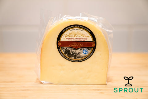 Grass-fed Cheese - Aged Cheddar - Sprout Farm Delivery