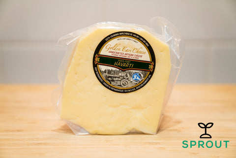 Grass-fed Cheese - Aged Havarti - Sprout Farm Delivery