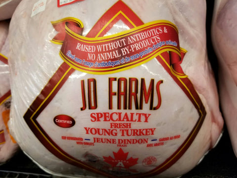 Whole Turkey - FRESH Grade A - Sprout Farm Delivery